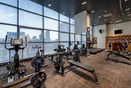 Small Tile Gym at Poulo Wai Hotel and Apartment A 1